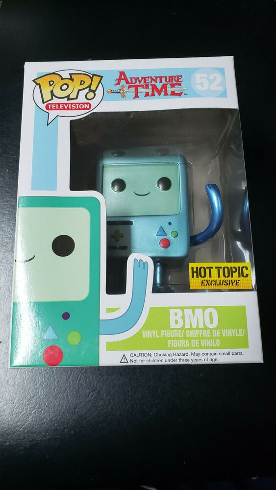 Funko Pop Metallic Bmo Adventure Time 52 Hot Topic Exclusive Rare Cartoon Netwo Afflink Contains Affiliate L Adventure Time Pop Dolls