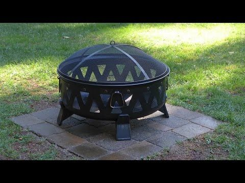 Installing A Paver Base For A Metal Fire Pit Youtube Metal Fire Pit Fire Pit Area Outdoor Fire Pit