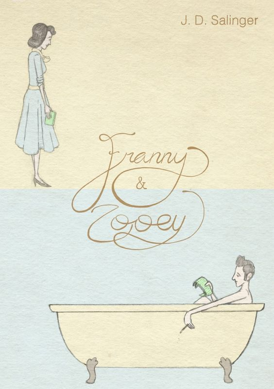 'Franny and Zooey'  illustrated by Mike Medaglia: