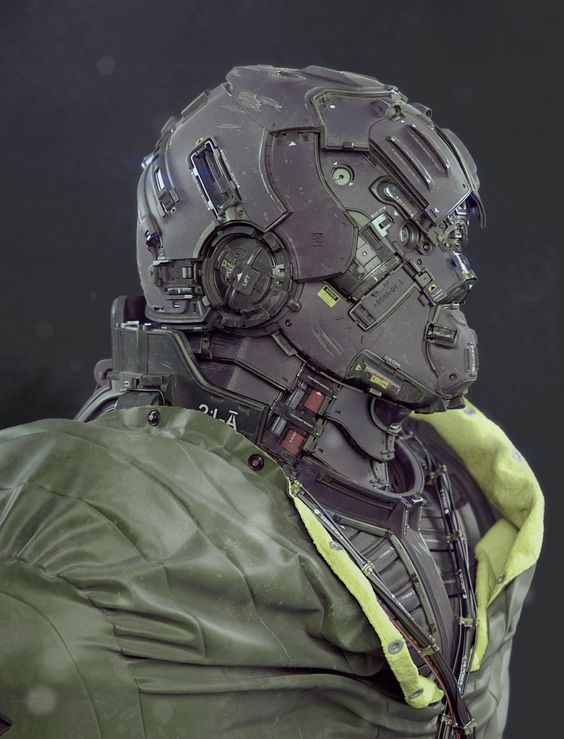 Here is an amazing piece of design art that I had to share with you! This is a slick design by Mike Andrew Nash for a combat mech warrior suit called 21-A BW, which the artist also calls Terran Infiltration Unit. I love this 3D CGI design and there are some renders that look mind blowingly real. The amount of detail and care put into this is just suit design is incredible. Check it out and tell us what you think!
