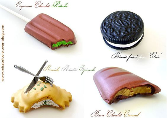 Fimo and articles on pinterest - Pate fimo gourmandise ...