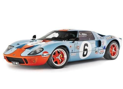 Ford Gt40 With Gulf Paint Job One Of The Coolest Cars Ever Made Ford Gt40 Gt40 Ford Gt