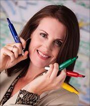 Christina Merkley  グラフィックファシリテーションを使ったコーチングが専門?のようです  http://www.shift-it-coach.com/