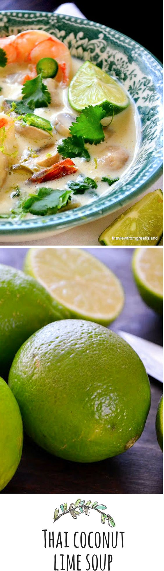 Shrimp, Limes and Coconut on Pinterest