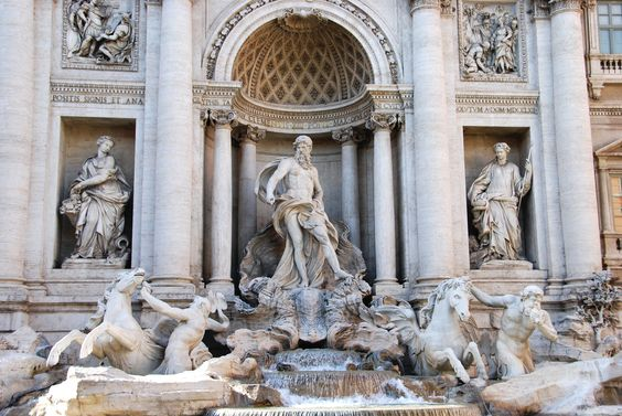 When in Rome, Italy.  Trevi Fountain is a must visit.    Photography: DiamondPhotog.com