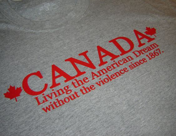 oh Canada...