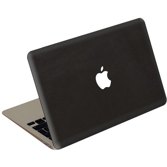 Valentine Goods MacBook Pro Leather Cover featuring polyvore, fashion, bags, electronics, fillers, accessories, tech, laptop, bags & cases, real leather bag, holiday bags, leather laptop bag, leather evening bag and genuine leather laptop bag