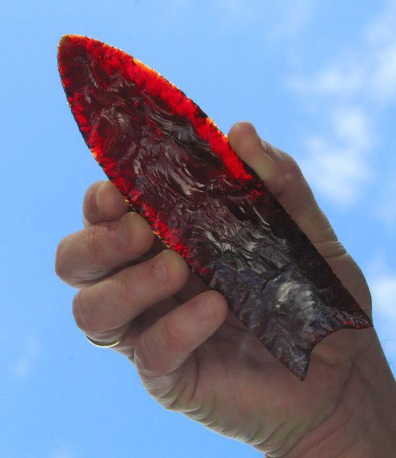 Indian Wilderness Survival Skills: Flint Knapping Glass