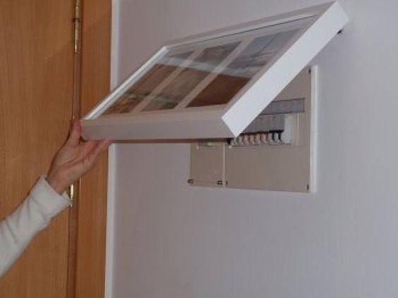 Tapar cuadro de luces | Decorar tu casa es facilisimo.com