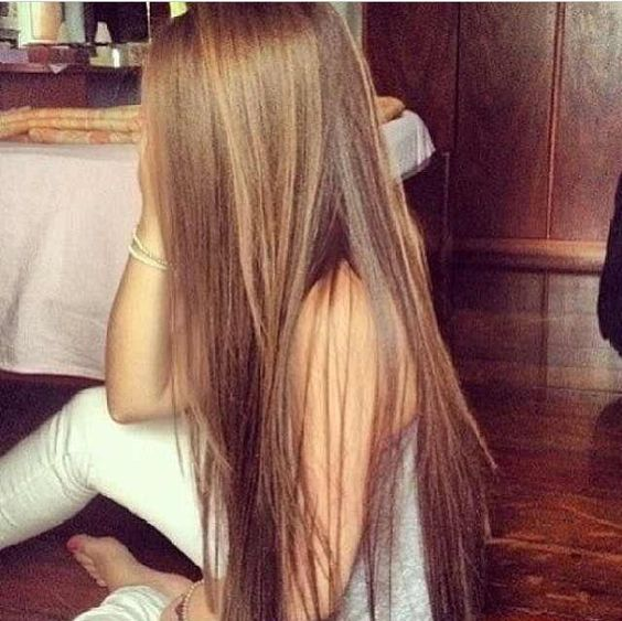 Long brown hair tumblr