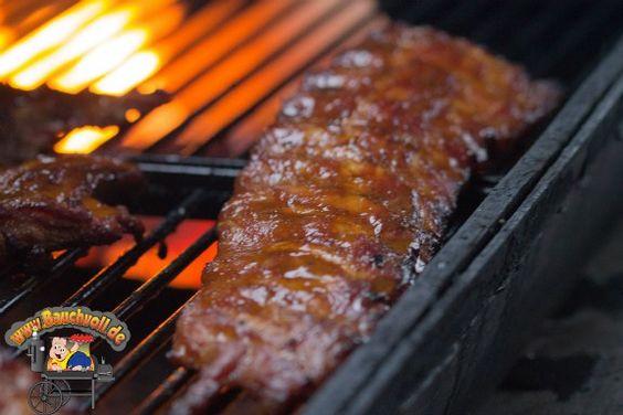 Ribs mit Ahornsirup - Süßes trifft feine Rauchnoten!