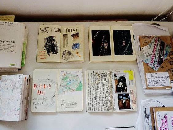 Visual journals Great for interior design inspiration