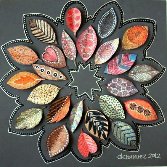 Het beschilderen van herfstblaadjes is een kunst op zich… bekijk 11 prachtige voorbeelden!