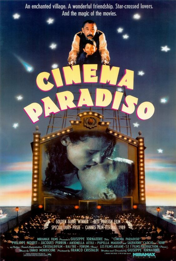 Cinema Paradiso.  One of my favorite movies of all time.