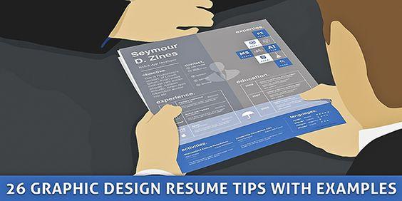 20+ Inspirational Graphic Design Resume Tips \ Samples Portfolio - graphic design resume tips