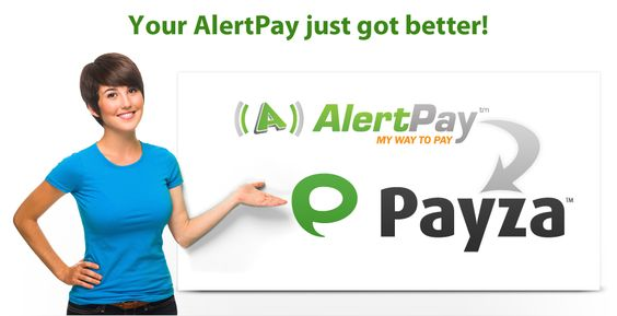AlertPay Transforms To Payza Today May 14th, 2012