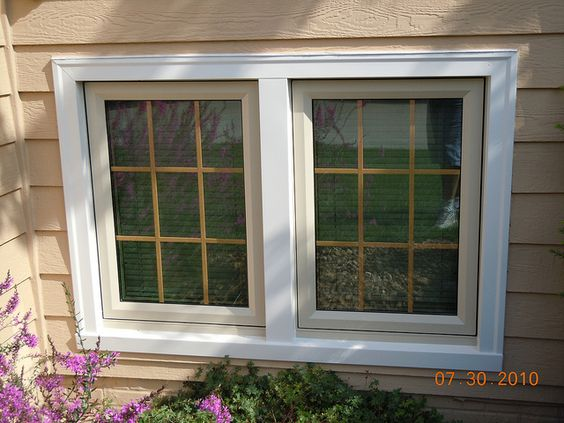 Exterior window trims exterior windows and window trims on pinterest for Exterior window molding designs