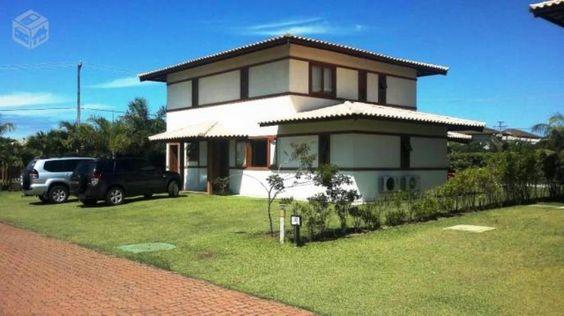 Praia Do Forte - Casa Com 5 Quartos, Sendo 3 Suítes