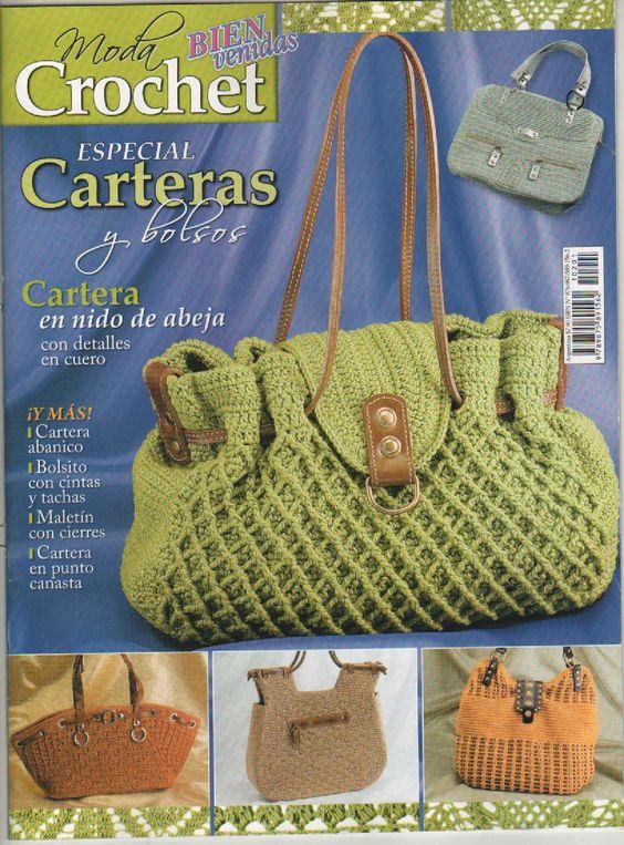 Katia Ribeiro Moda & Decoração Handmade: Revistas Completas Bolsas em Crochê