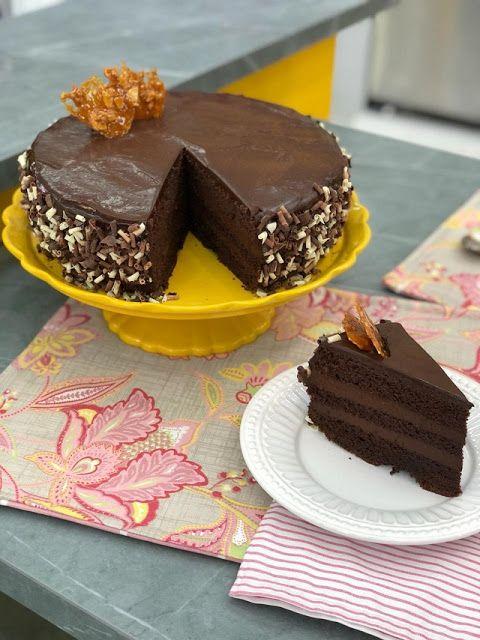 Bolo Musse De Chocolate Do Mais Voce De Hoje Receita Da Ana