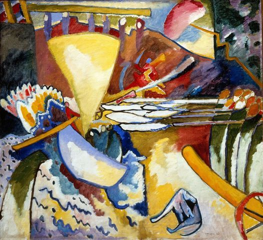 Wassily Kandinsky, Improvvisazione 11, 1910, olio su tela, San Pietroburgo, Museo di Stato Russo © Wassily Kandinsky, by SIAE 2012