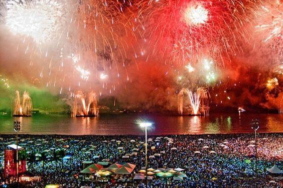 Río de Janeiro, Brasil in New Year.