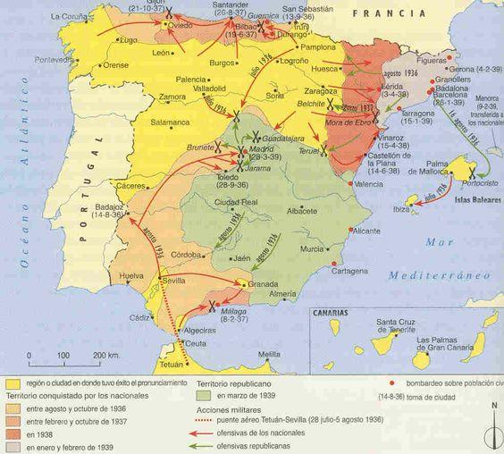 Guerra Civil Española 1936-1939 - Tamaño completo
