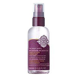 Spa Wisdom™ Morocco Orange Blossom Finishing Mist | The Body Shop ® *** My favorite spray - HANDS DOWN!