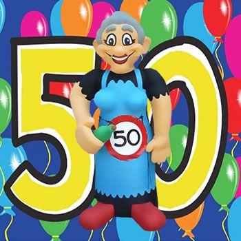 Super 110 Mooie Sarah 50 Jaar Spreuken en Teksten   Verjaardag humor SB-73
