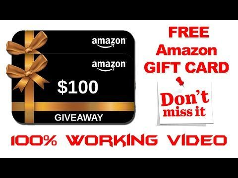 Free 100 Amazon Gift Card Code In 2020 With Images Best Gift