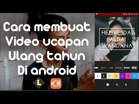 Youtube Dengan Gambar Ulang Tahun Video Youtube