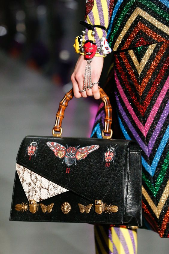 Fashion Accessories I trend I Gucci Fall 2017 I accessories I Vogue I @monstylepin
