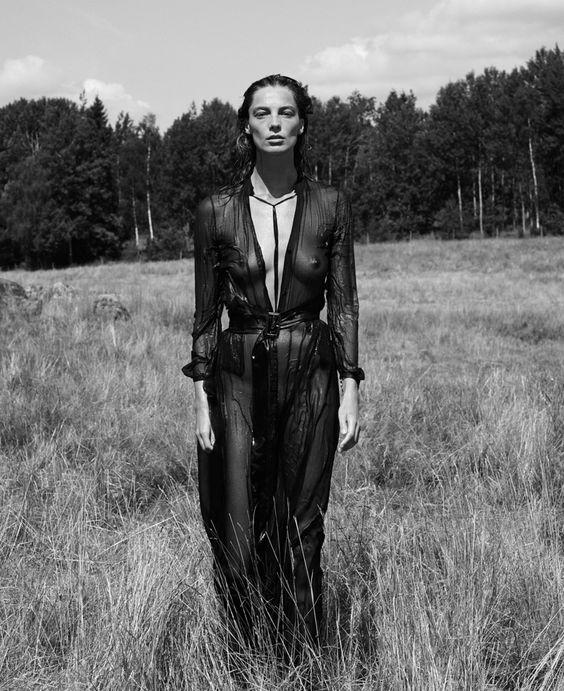 Interview Setembro 2014   Daria Werbowy por Mikael Jansson [Editorial]