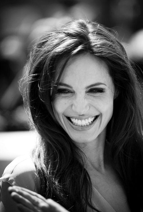 Angelina Jolie Her smile: