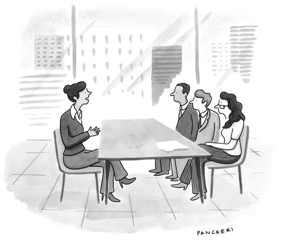 New Yorker Cartoon