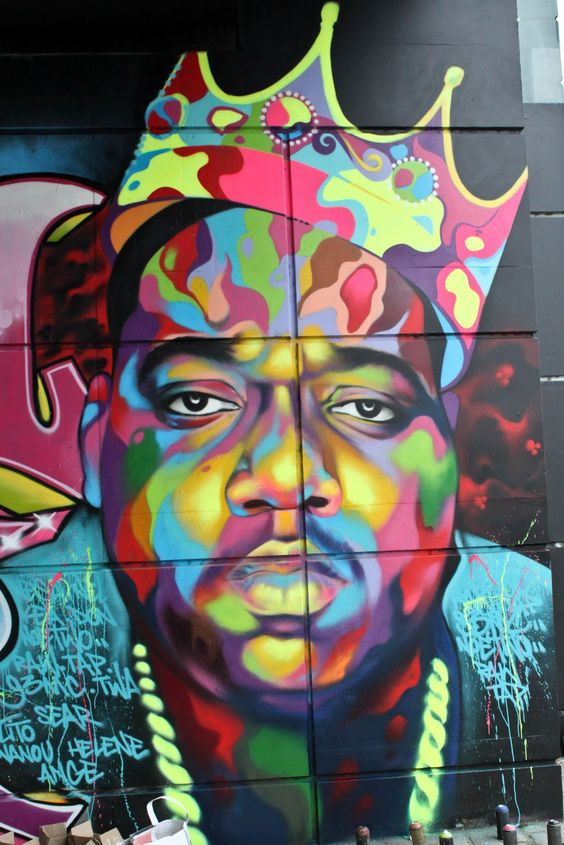 Pinterest the world s catalog of ideas for Biggie smalls mural brooklyn