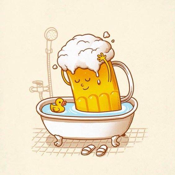 Clean drink - Happy drawings :)