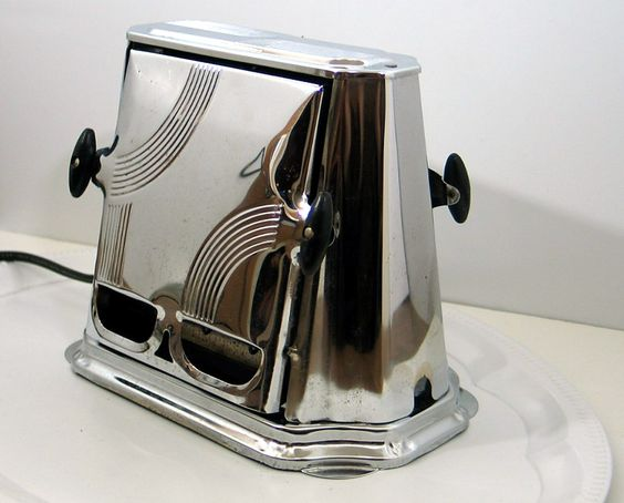Antique Son Chief Art Deco Style Toaster