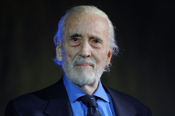 Christopher Lee (27 May 1922 – 7 June 2015)