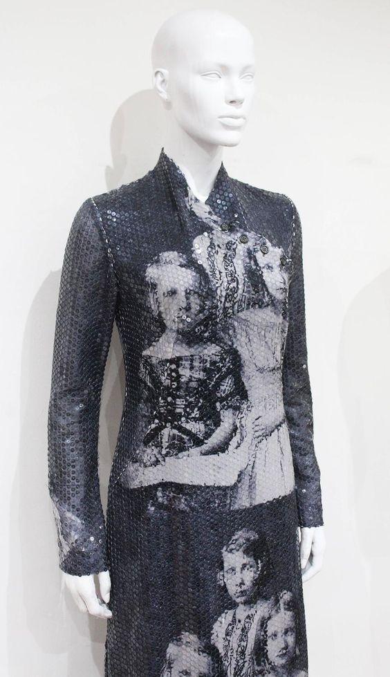 Alexander McQueen sequined 'Romanov Princesses' dress, 'Joan' Collection c. 1998 4: