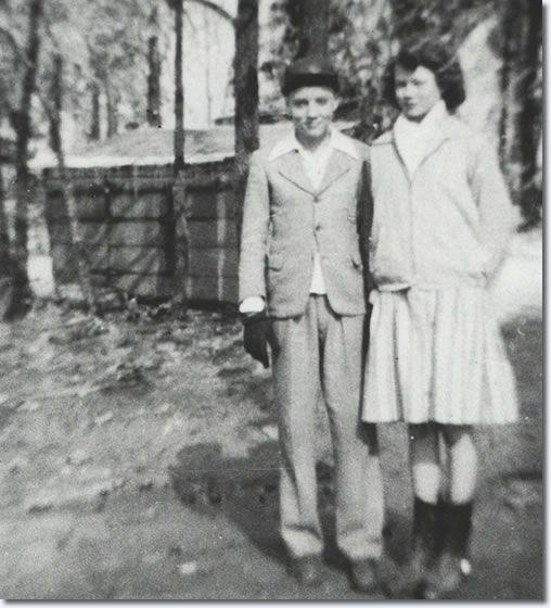 Elvis Presley and Magdalene Morgan