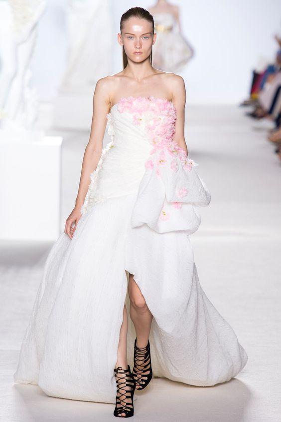 Giambattista Valli Fall 2013 Couture Fashion Show - Katya Riabinkina (Elite)