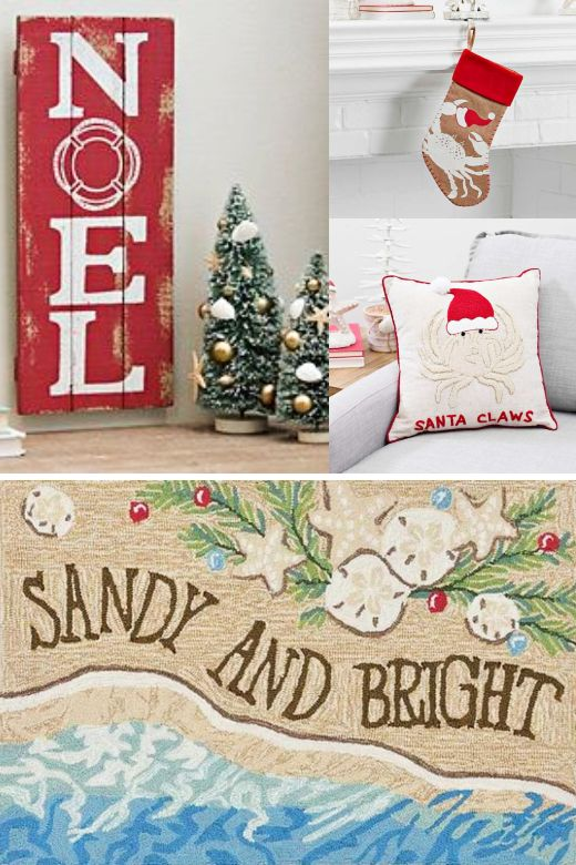 Shop Coastal Christmas Decor Ornaments Coastal Christmas Decor Tropical Christmas Decorations Coastal Christmas