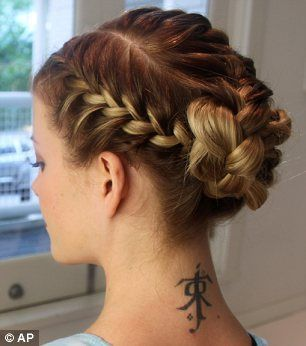 This style is easy to do even if your hair is fine....you can sleep on it too, it should last about 3 days.
