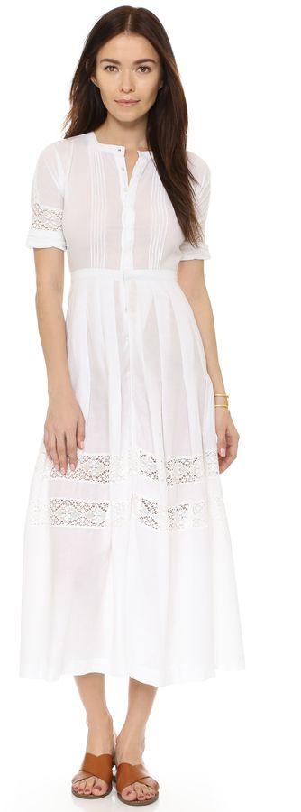 LOVESHACKFANCY Cotton Crochet Lace Eden Dress on ShopStyle
