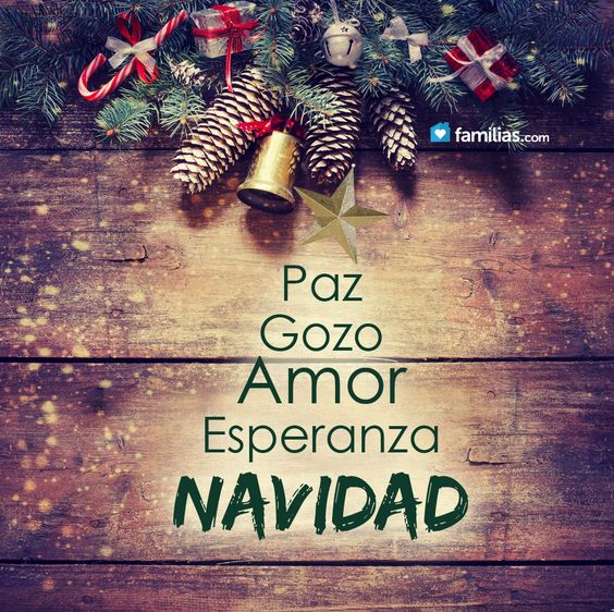 ^Paz, amor, Navidad