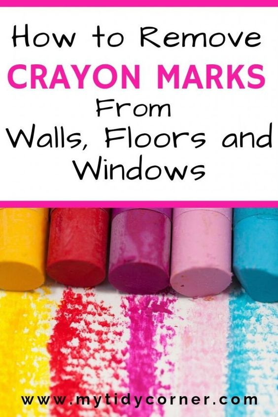 How To Remove Crayon Marks From Walls Painted Wood Tile