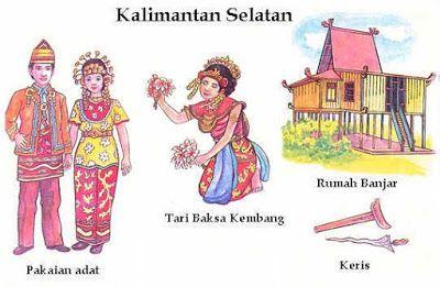 34 Provinsi Rumah Adat Pakaian Tarian Tradisional Senjata