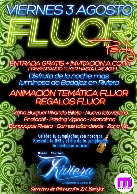 Fluor Party - Terraza Riviera Badajoz