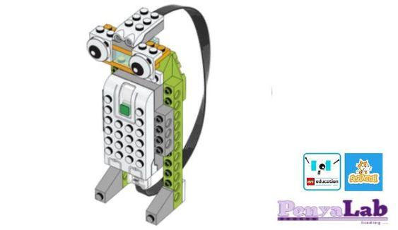 Lego wedo + Scratch – Robot espia
